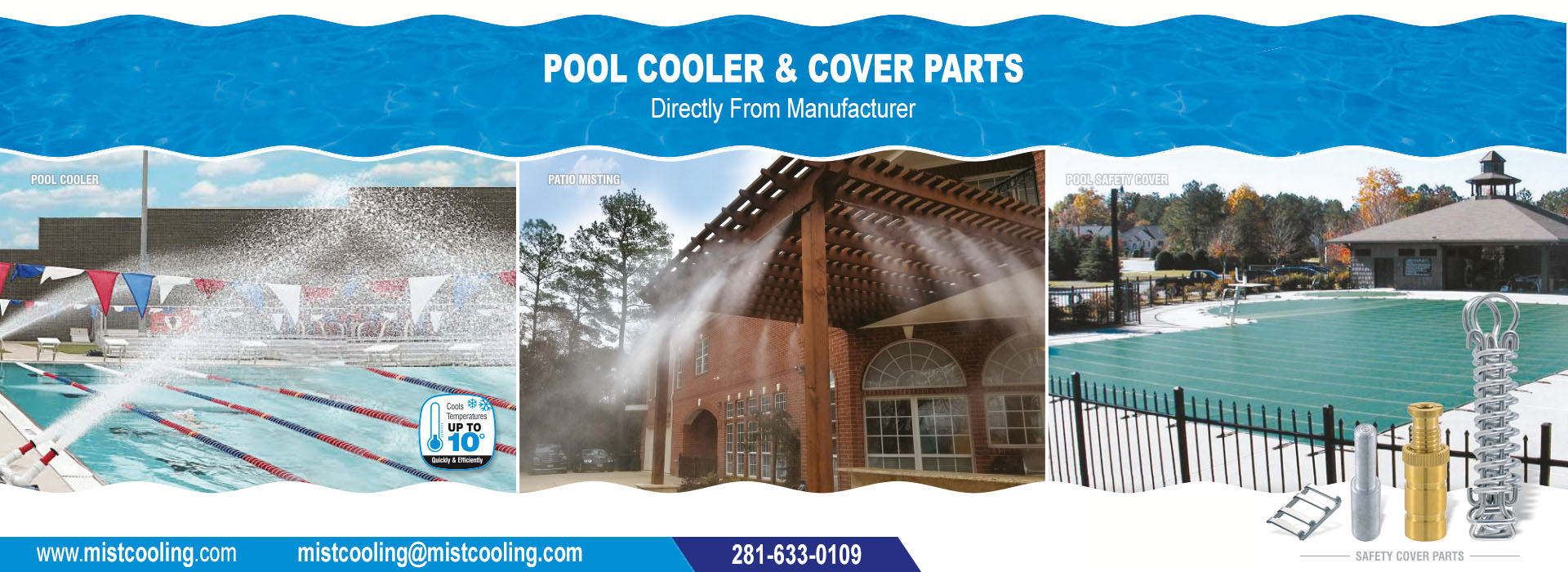 Pool Cooler | Pool Mister | Pool Chiller | Swimming pool Cooler