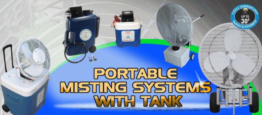 Portable Misting With Tank